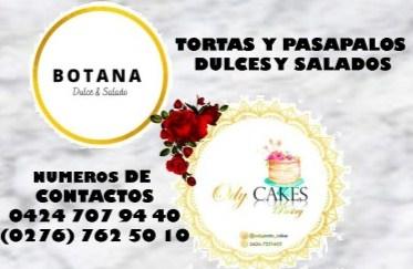 TORTAS Y PASAPALOS