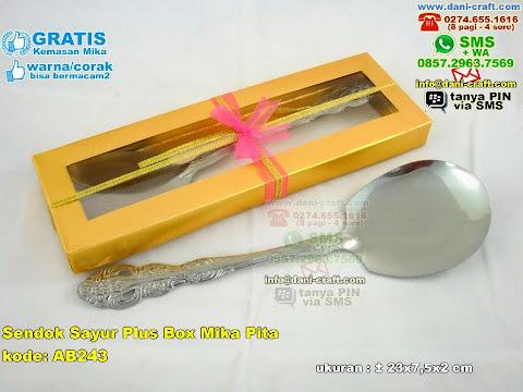 Sendok Sayur Plus Box Mika Pita
