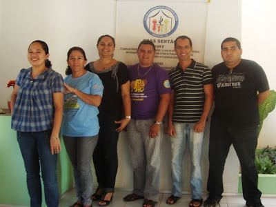 Equipe do CRAS Sertão 2011-2012