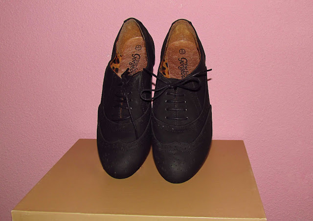 new look brogues