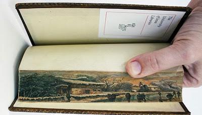 Fore-Edge Painting, Seni Lukis di Buku 2 Abad