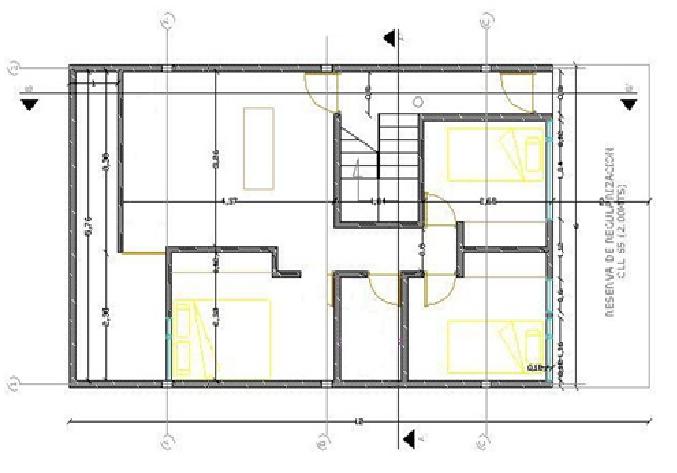 Dise o basico de interpretacion de planos for Ejes arquitectonicos
