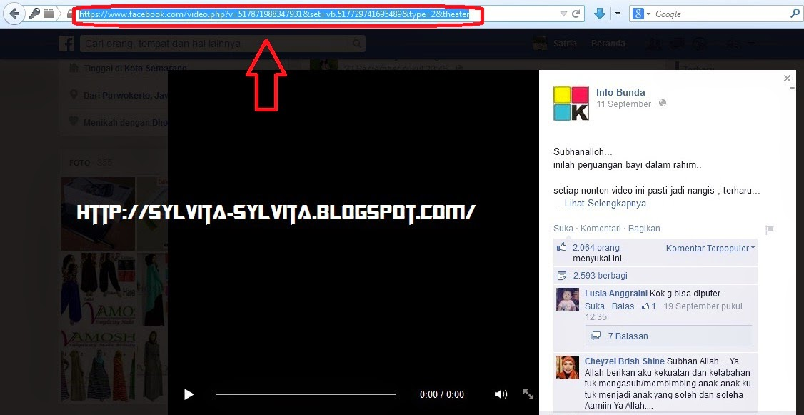 Panduan Cara Mudah Download Video Di Facebook