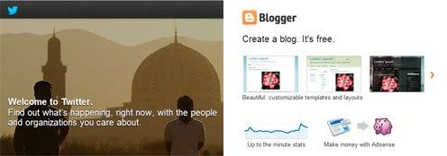 blogger vs twitter