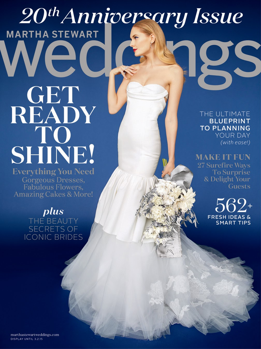 Vera Wang by Erik Madigan Heck for Martha Stewart Weddings