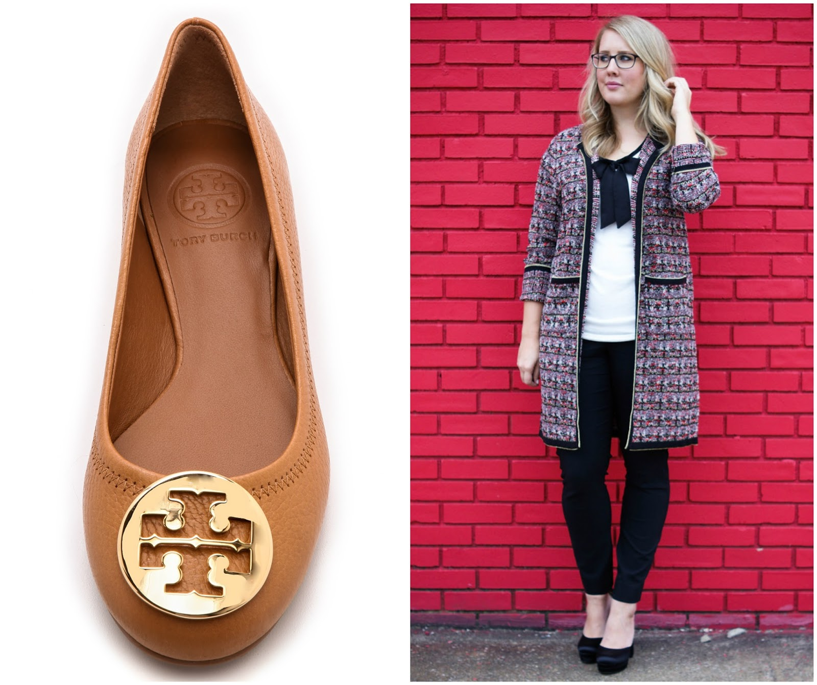 On the sponsorship side of things, I saved up Shopbop credits to order the  tan Tory Burch revas. I also collaborated with New York and Company and  received ...