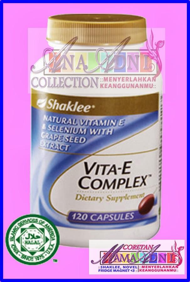 Vitamin ACE untuk cyst, fibroid dan juga antioksidan
