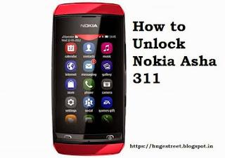 How To Unlock Nokia Asha 311