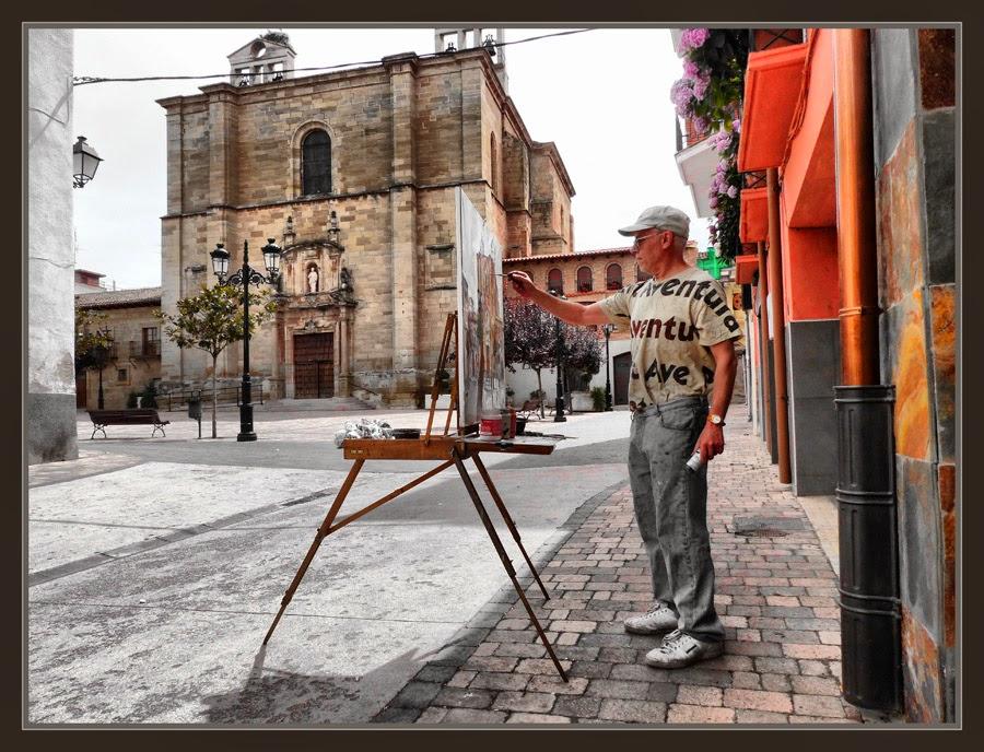LA RIOJA-PINTURA-HUERCANOS-ESPAÑA-PAISAJES-PUEBLOS-PINTOR-FOTOS-ARTISTA-ERNEST DESCALS