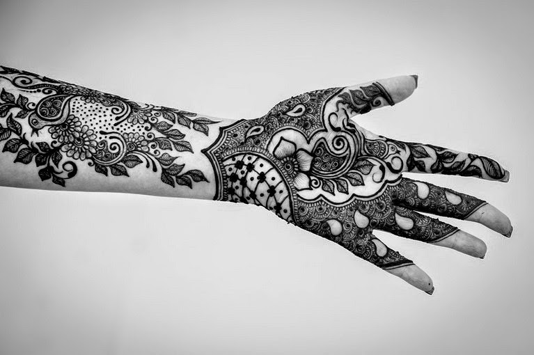 Full Hand Indian Mehndi Designs 2014