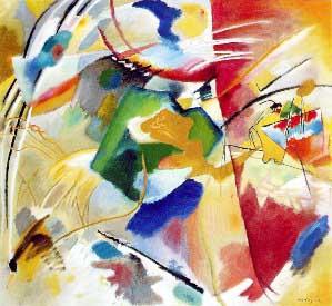 COCINANDO CUADROS. Pintura abstracta y abstracción | COCINA SANA Y