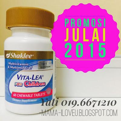 Promosi Vitalea For Children