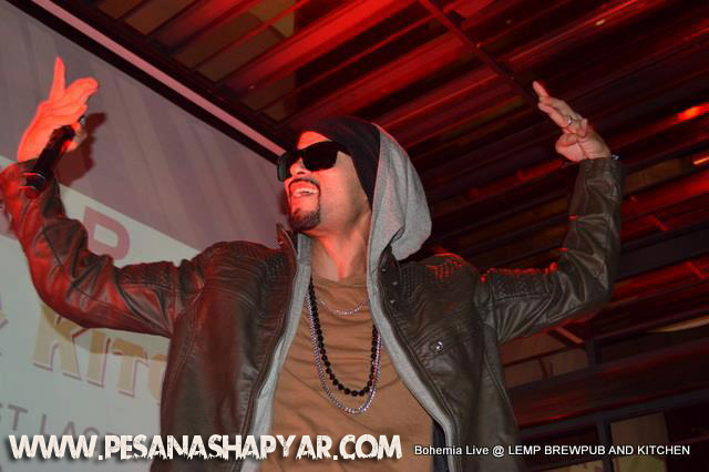 bohemia live video download delhi 2012