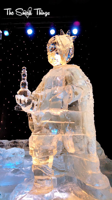 ICE! Frosty the Snowman at Gaylord Opryland ~ The Small Things