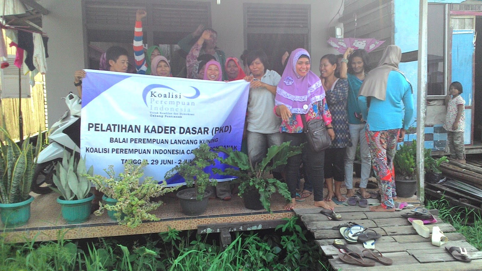 koalisi perempuan indonesia cabang pontianak