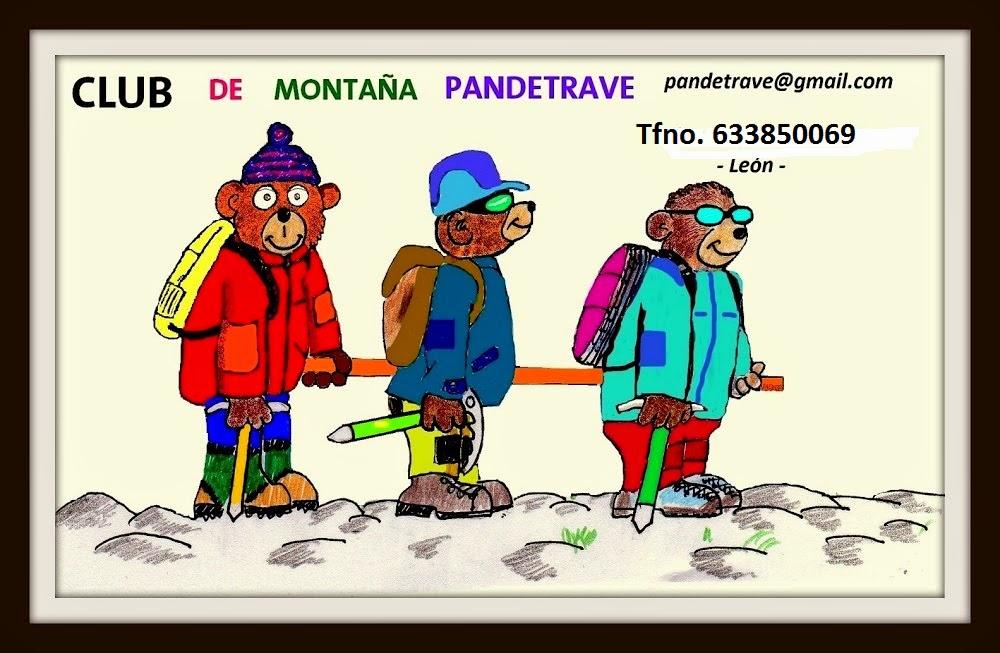 PANDETRAVE. CLUB DE MONTAÑA. SARIEGOS LEON.