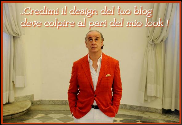 template modello blog design