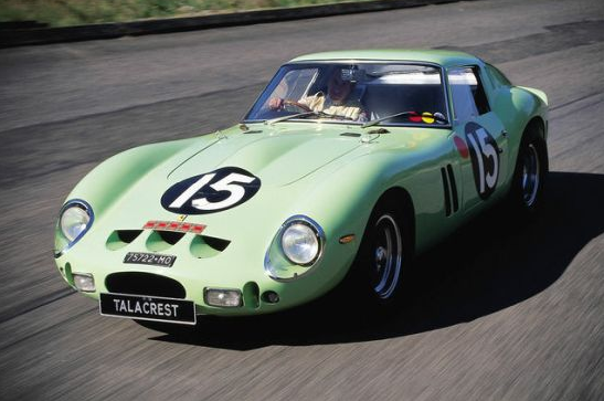 photo of worlds most expensive car green 1962 ferrari 250 gto