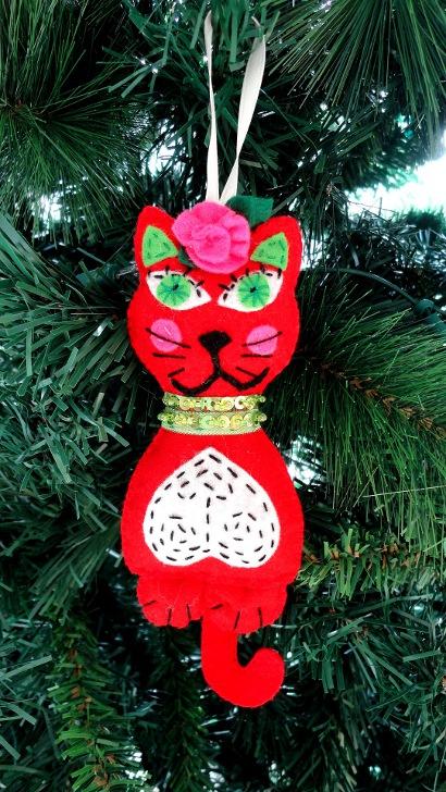 Bienvenid s a laboradicta patrones adornos de navidad en - Adornos navidenos de fieltro ...