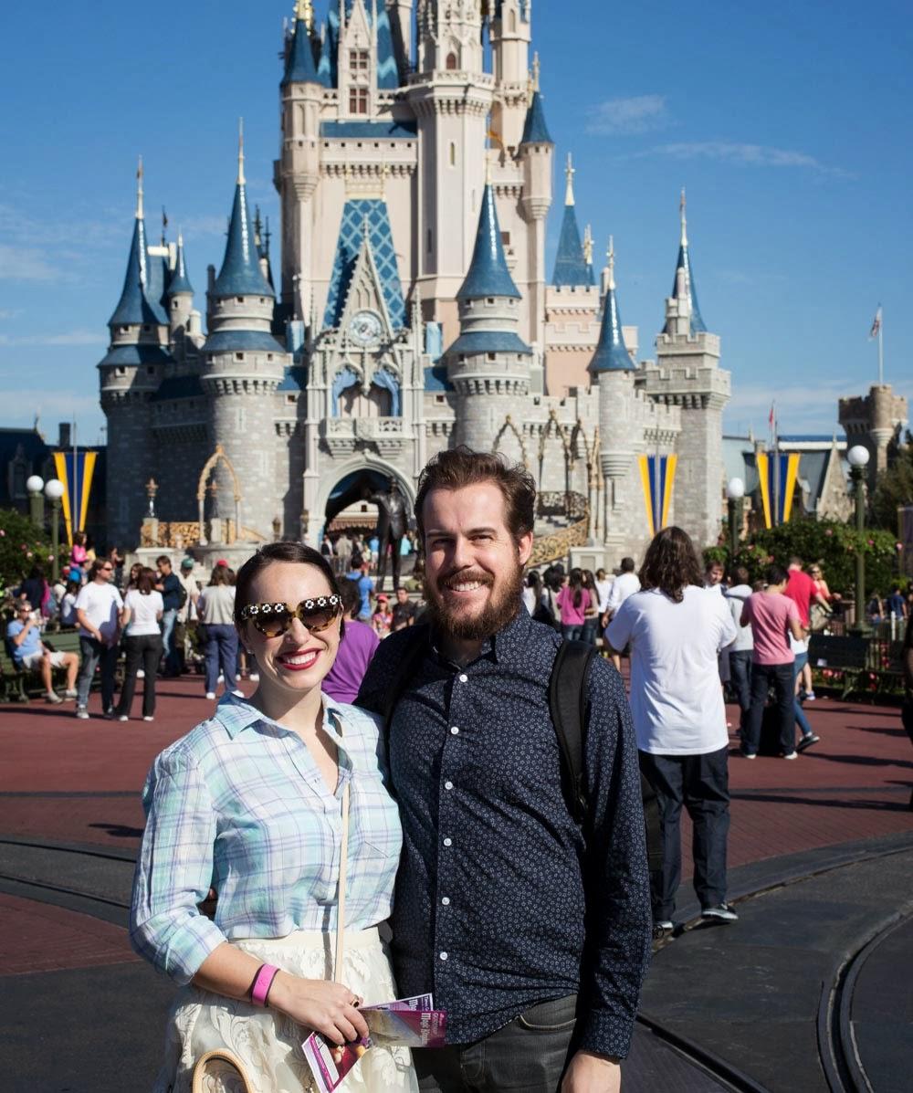 Disney World Magic Kingdom Cinderella's Castle