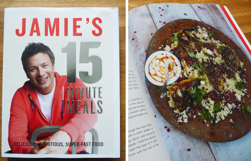 Book review jamies 15 minute meals by jamie oliver the graphic although jamies 30 minute meals left me a little frazzled when trying to keep to the clock it has turned out to be a really good book forumfinder Image collections