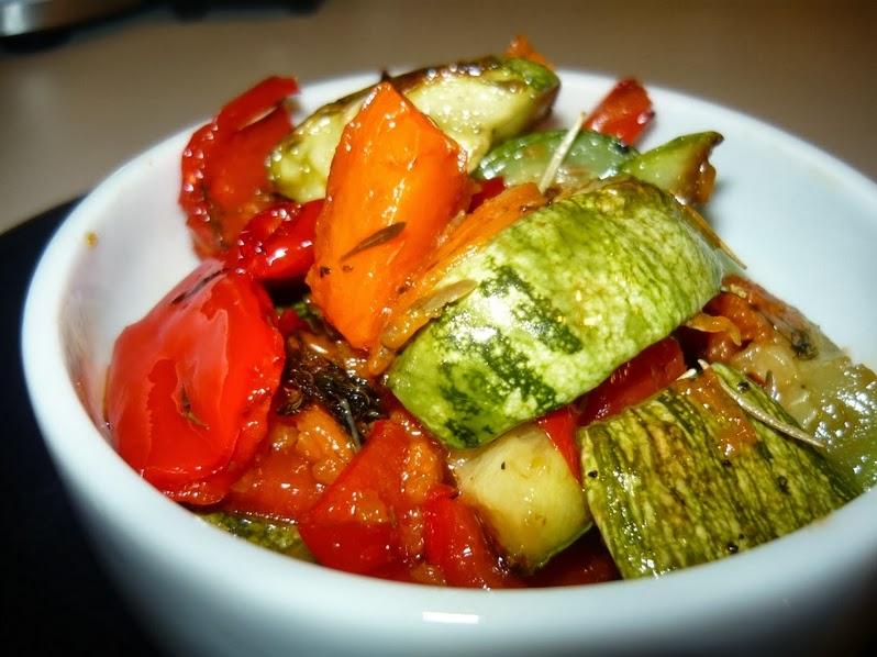 Legumes ao Forno (vegana)