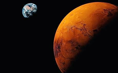 life on mars planet, mars planet, earth comparision with mars planet