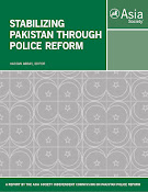 Stabilizing Pakistan Through Police Reforms