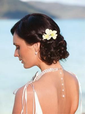 Side Bun Bridal Hairstyle