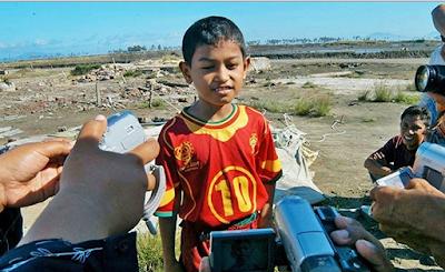Martunis Selamat Dari Tsunami Aceh