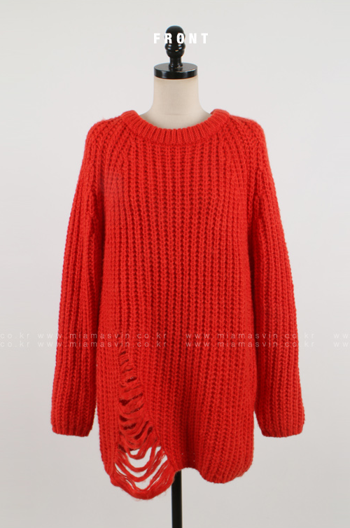 Ribbed Dress with Ladder Knit Accent