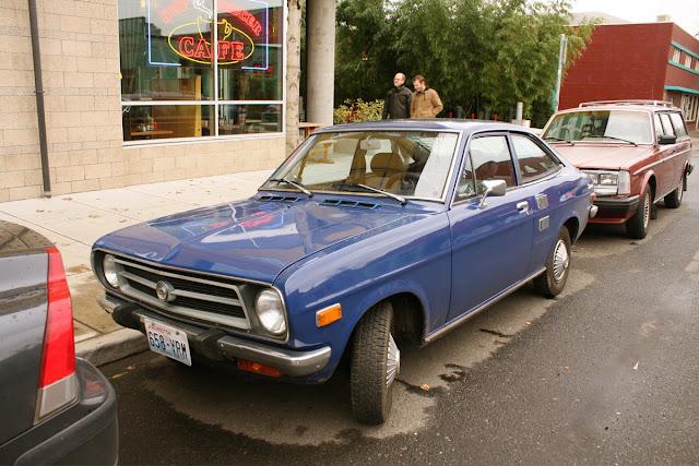 1971 Datsun 1800 hatchback.