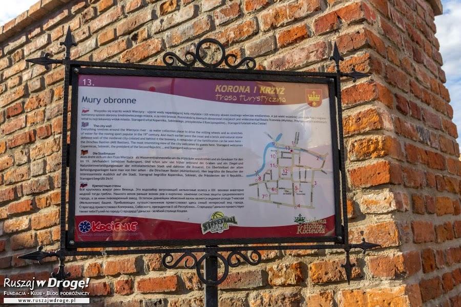 Korona i Krzyż - trasa turystyczna po Starogardzie Gdańskim