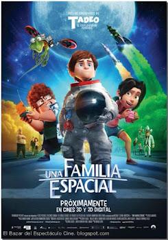 Una Familia Espacial Poster