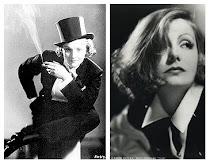 Garbo y Dietrich