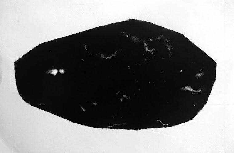 Piedras Negra Ovalada