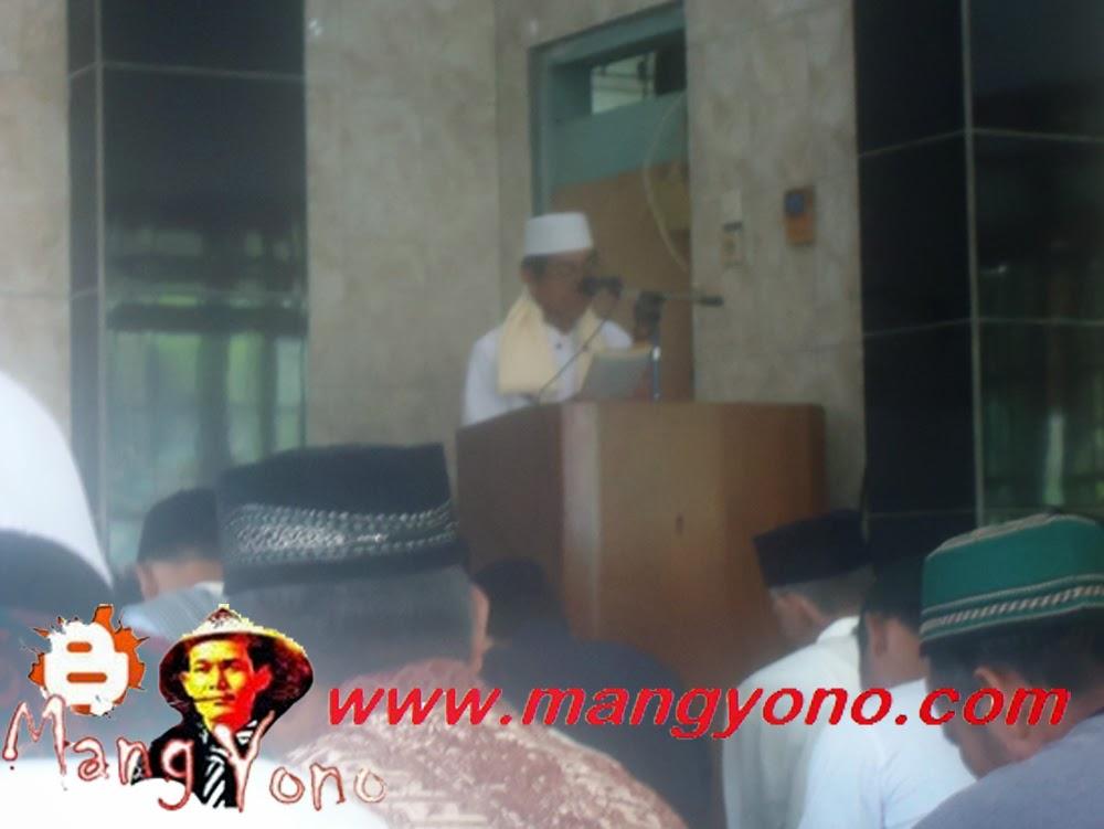 Khutbah oleh Wak Haji Mugni