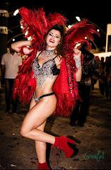 Musa da Gaviôes no Carnaval de Ilicínea