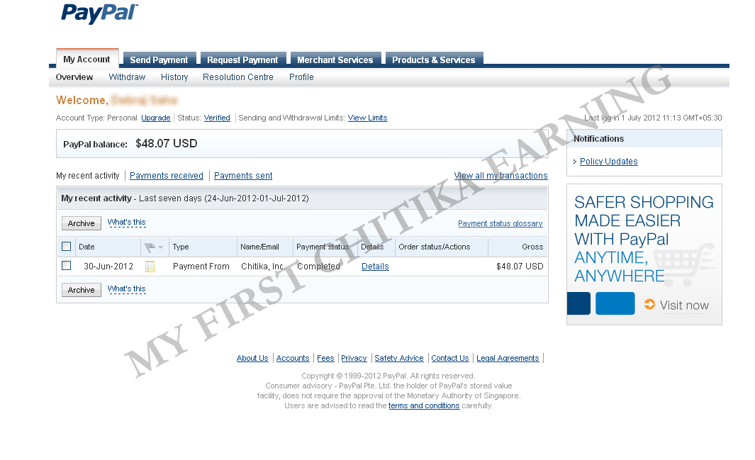 How can i make paypal money fast yahoo
