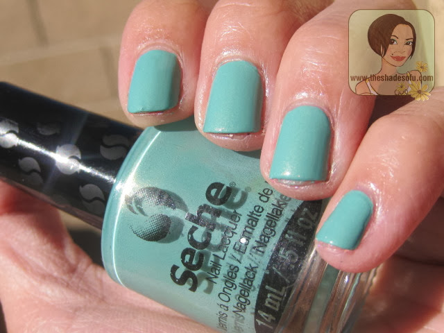 Seche Nail Lacquer in Conquer the World