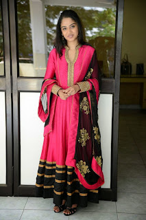 Actress Nikitha Anil Latest Picture Gallery in Pink Salwar Kameez 19