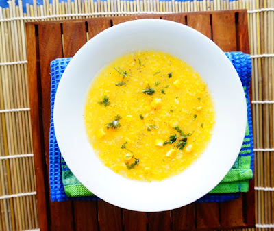 Sweet Corn Soup,Makai Soup,healthy soups,Indian soups