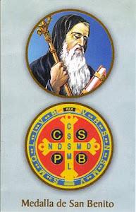 San Benito ruega por nosotros