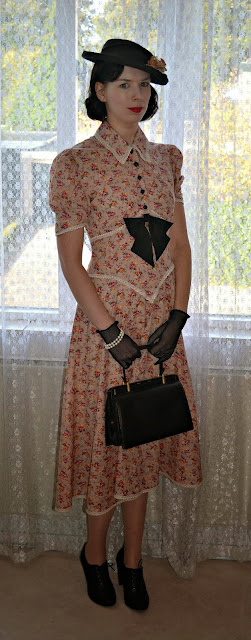 Lutterloh 1941 Dress made by Anthea