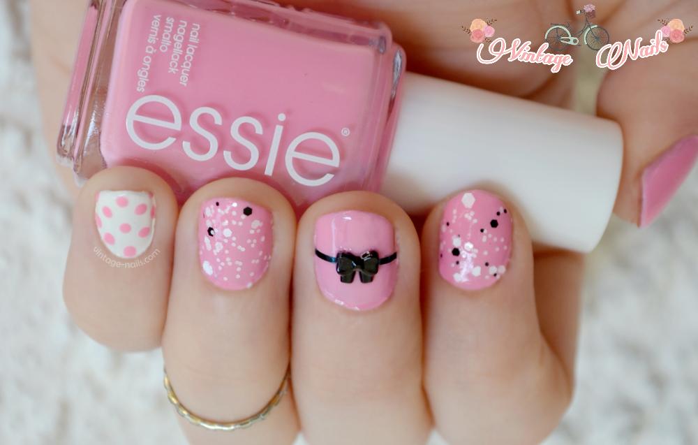 nail art, manicura, Essie, China Glaze, Hean