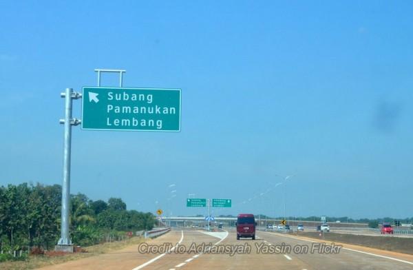 Rute Ciater Bandung Subang Lewat Tol Cipali