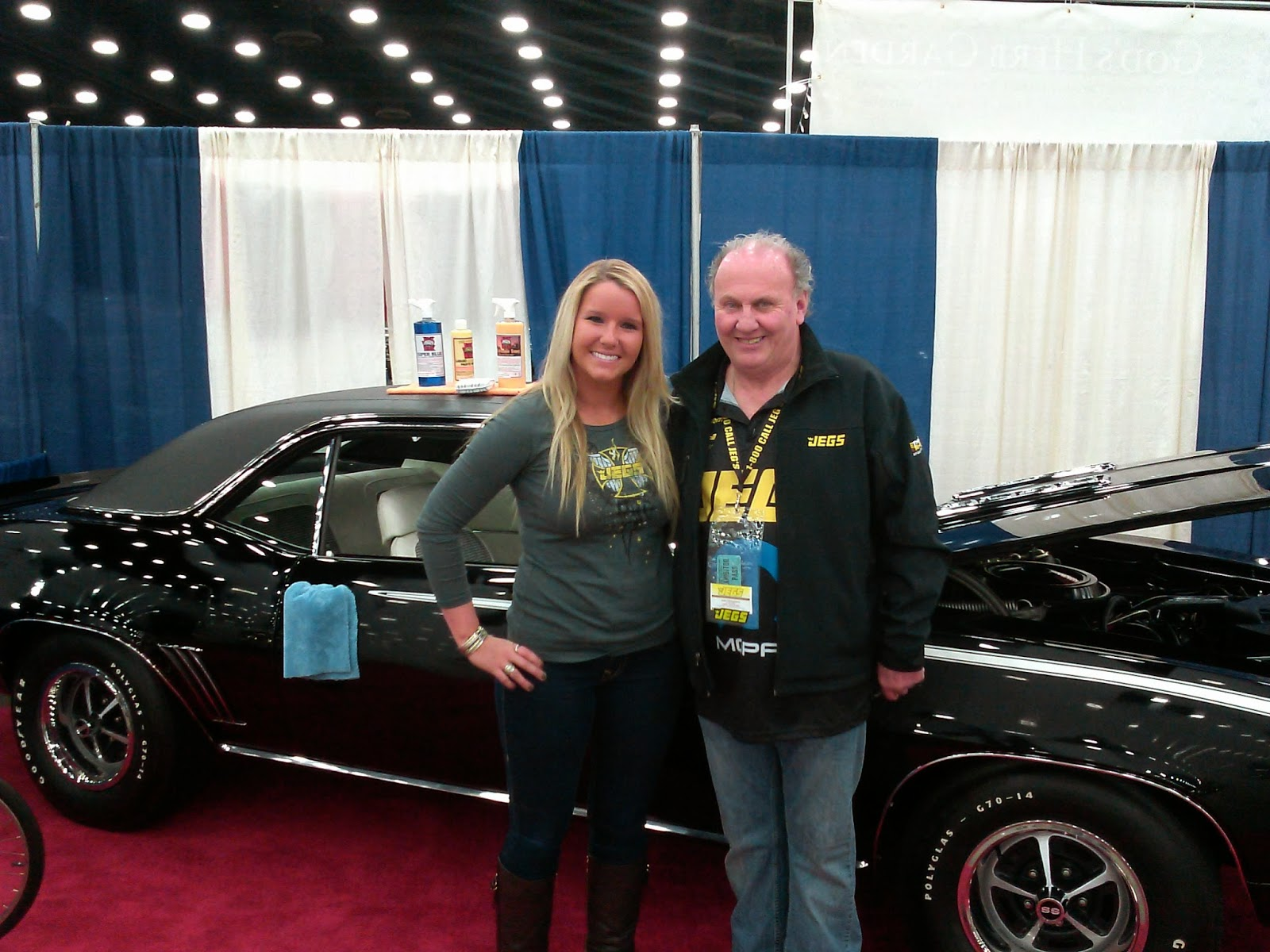 Jegs Carl Casper Auto Show Jax Wax Customer