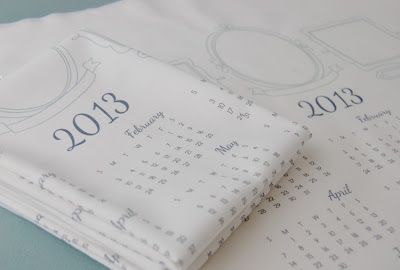 fabric calendar from septemberhouse