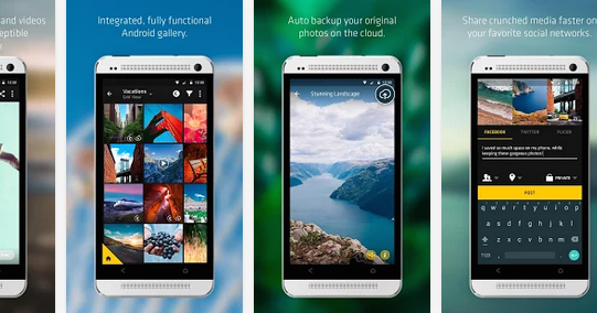[FREE ANDROID APP] Crunch Gallery - Gain Extra Space by Crunching Photos and Videos