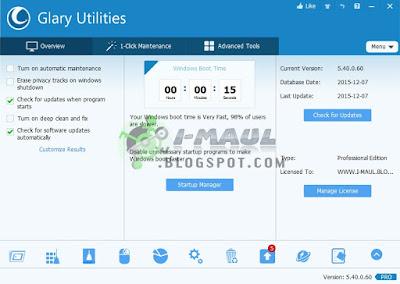 Glary Utilities Terbaru software utilitas terbaik